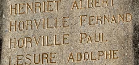 Monument aux Morts de Vassincourt